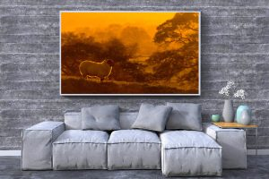 Copper Sheep | Wall Art