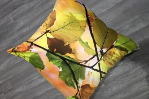 Autumn Leaves Large Pillow