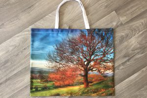Large Shopping Bag | Autumn Tree