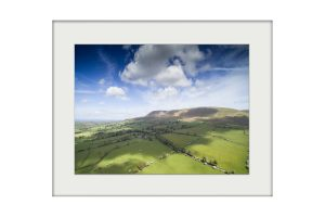 Aerial Pendle | Mounted Print