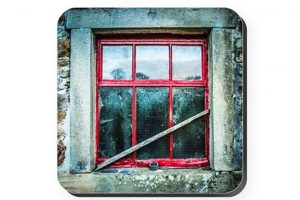 Barn Window Coaster