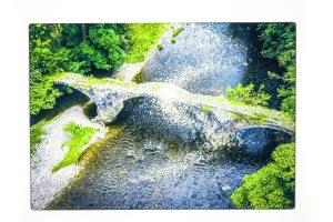 Cromwell's Bridge | Glass Chopping Board