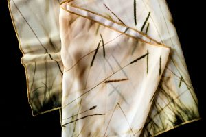 Sunset Grass | Chiffon Scarf