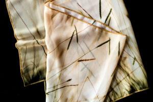 Sunset Grass   Chiffon Scarf