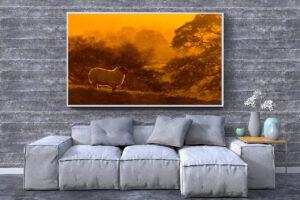 Copper Sheep   Wall Art
