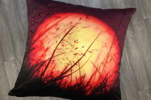 Fireball Throw Pillow
