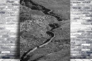 Snaking Wall   Wall Art