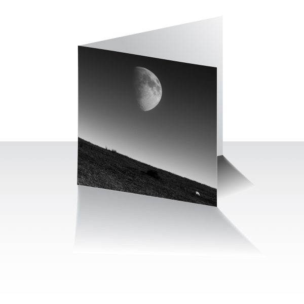 Pendle Moon Greeting Card