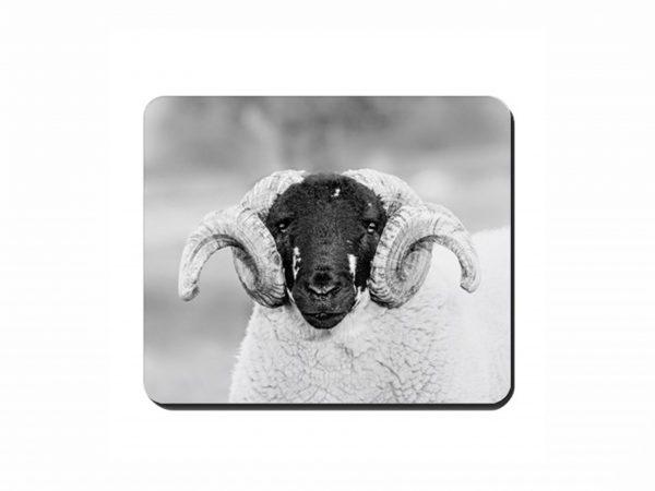 Ram's head Cork Placemat 2