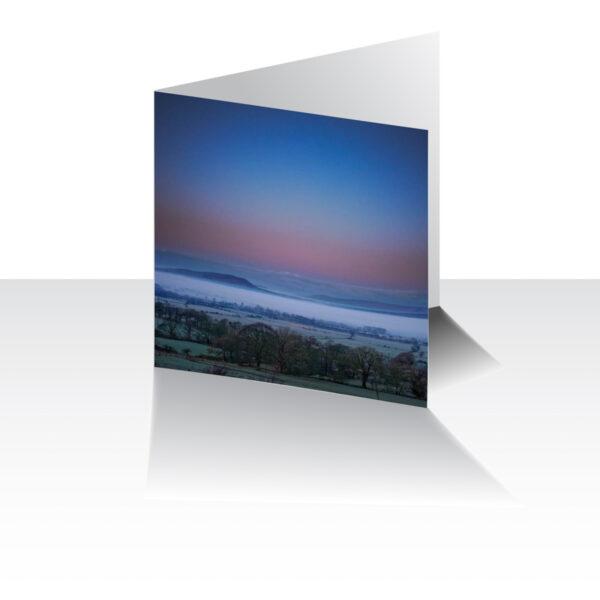 Ribble Valley Dawn Greeting Card
