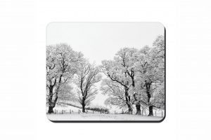 Winter Trees Cork Placemat 2