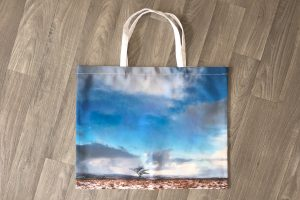 Large Shopping Bag | Winter Field