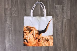 Shopping Tote | Highland Cow