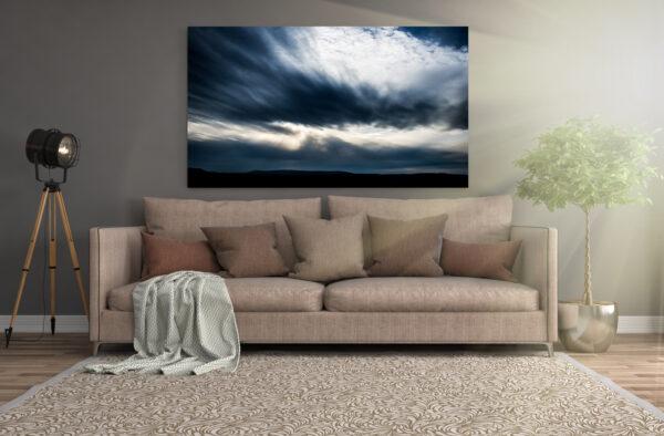 Cloudstorm   Aluminium Print