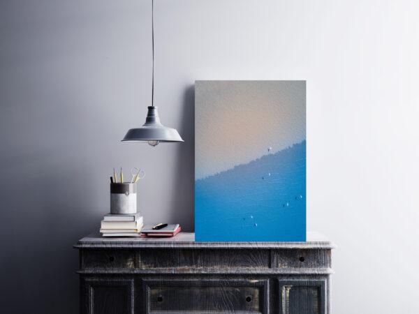 Coastal Flight | Aluminium Print