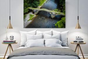 Cromwell's Bridge | Aluminium Print