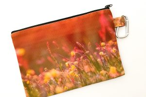 Canvas Cosmetic Bag | May Flowers