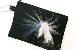 Canvas Cosmetic Bag | Heron
