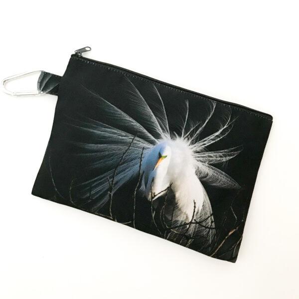 Canvas Cosmetic Bag | Heron