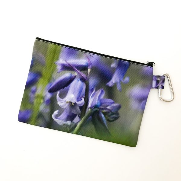 Canvas Cosmetic Bag | Bluebells