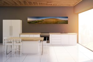 Pendle Panorama Evening | Aluminium Print