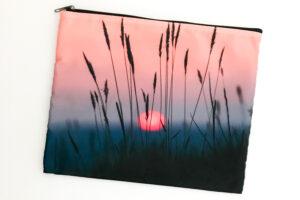 Toiletry Bag | Sunset Reeds