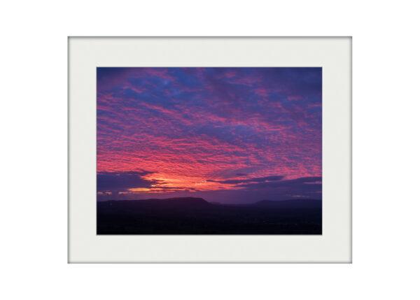 Purple Bowland | Mounted Print