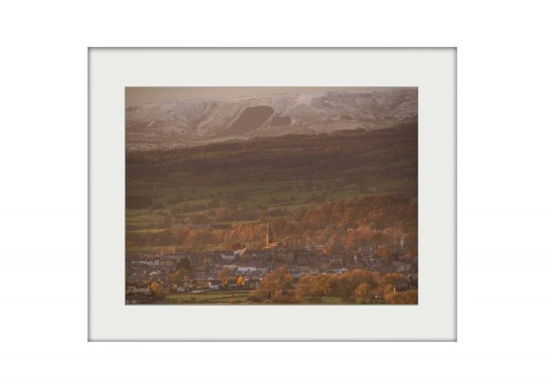 Clitheroe Evening | Mounted Print