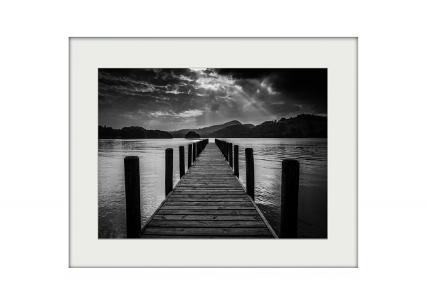 Coniston Jetty | Mounted Print