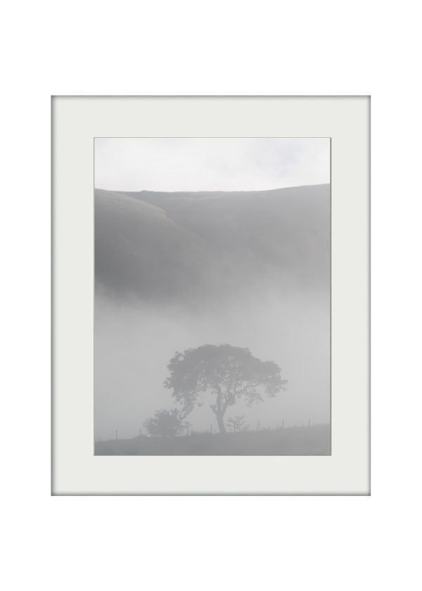Morning Mists on Pendle | Mounted Print