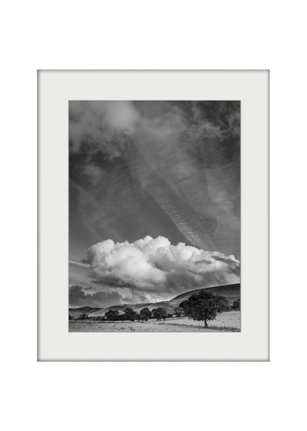 Pendle and Cloud | Mounted Print