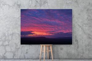 Purple Bowland | Aluminium Print