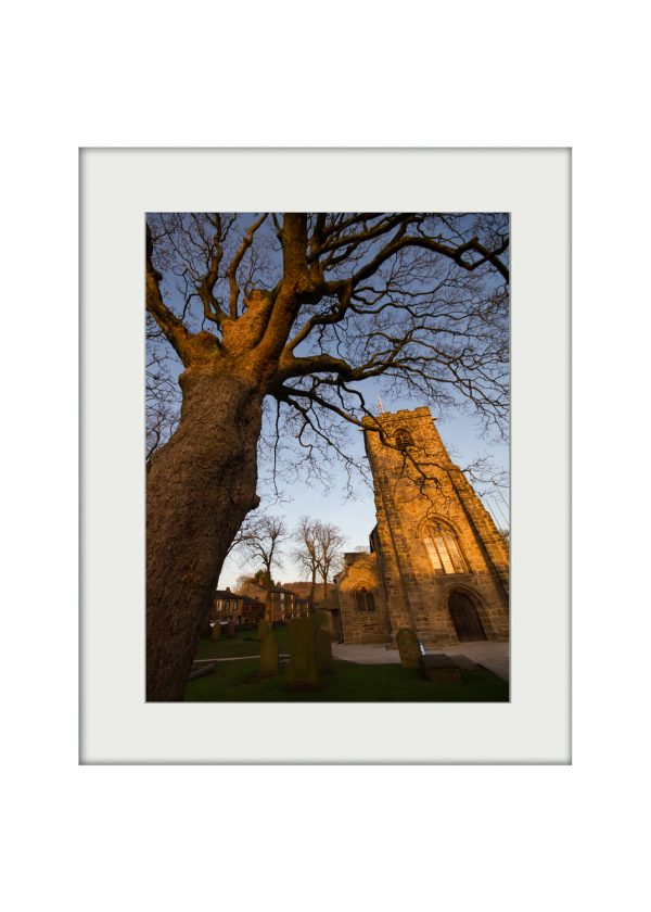 St. Mary's at Whalley | Mounted Print