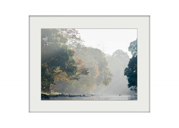 The Hodder in October | Mounted Print