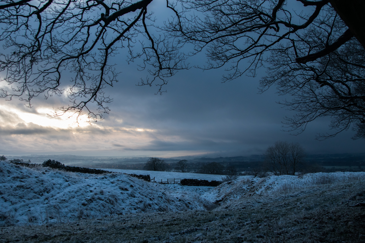 Pendle Winterscape
