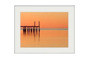 The Jetty | Mounted Print