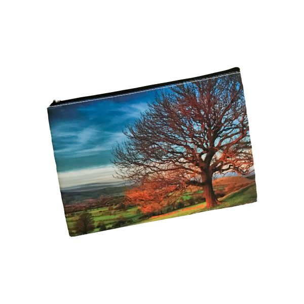 Cosmetic Bag Mockup – Autumn Tree