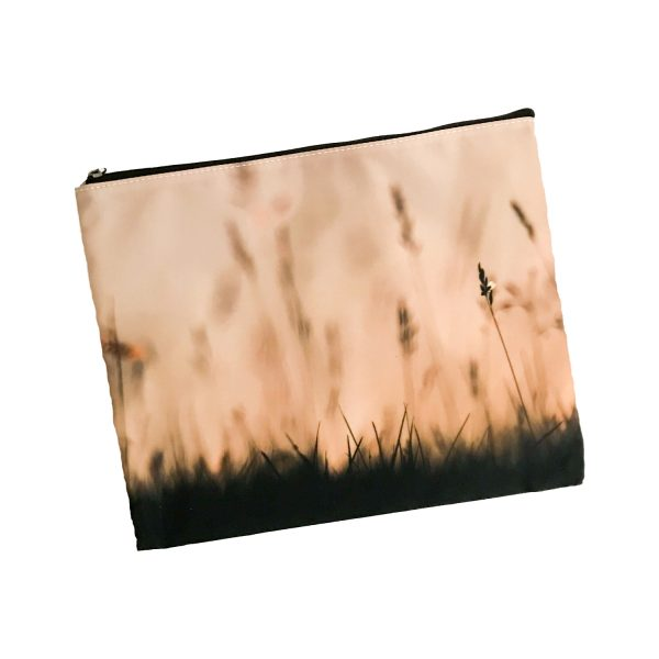 Cosmetic Bag Mockup – Bronze Meadow