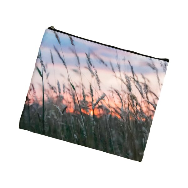 Cosmetic Bag Mockup – Meadow Glow