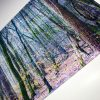 Spring Woods | Glass Chopping Board Detail