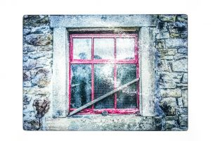 Barn Window | Glass Chopping Board