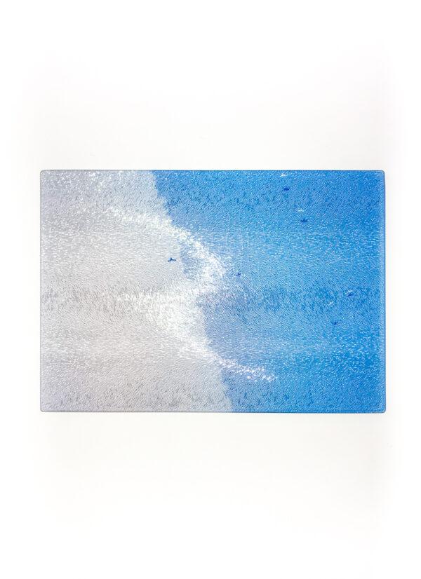 Coastal Flight | Glass Chopping Board