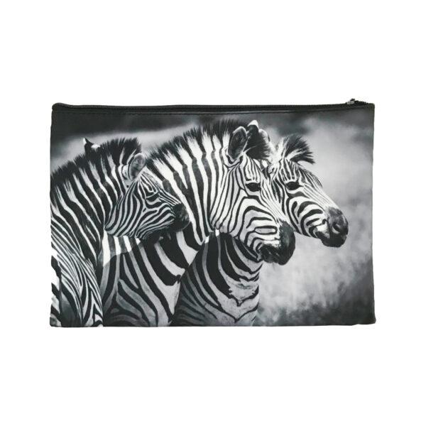 Cosmetic Bag Mockup – Zebras
