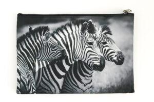 Cosmetic Bag | Zebras