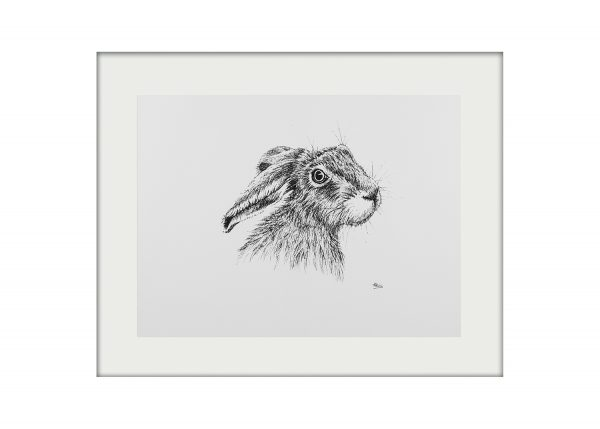 Tish Grant Hare Mounted