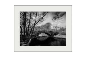 Newton Bridge Mounted Print