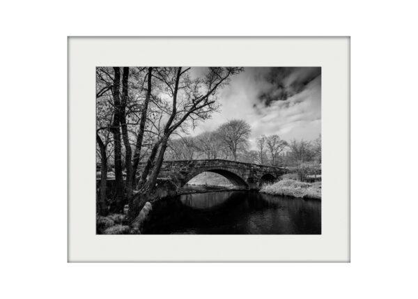 Newton Bridge Mounted Print