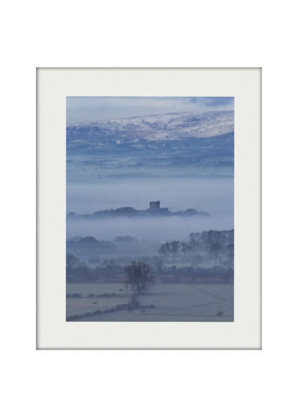 Castle in Fog A3 mockup