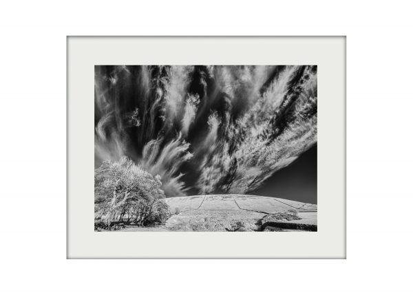 Clouds over Pendle A3 mockup