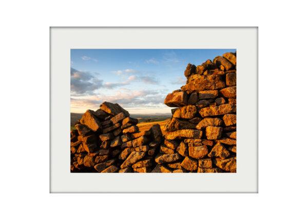 Dry-stone Wall A3 Mockup